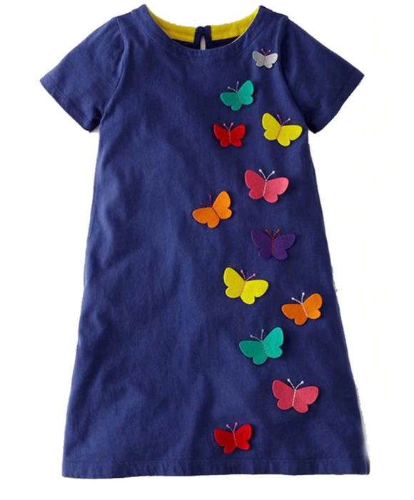 BETTY- Butterfly Dress