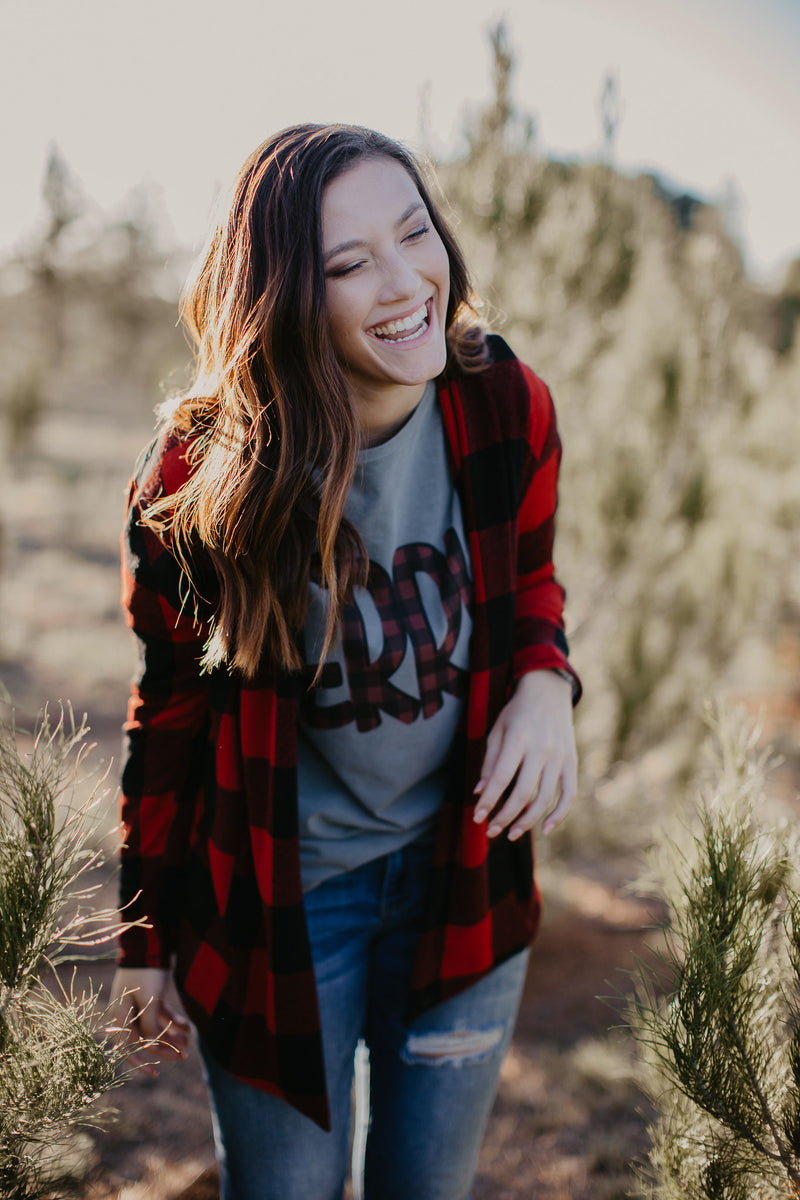 Buffalo Plaid Merry