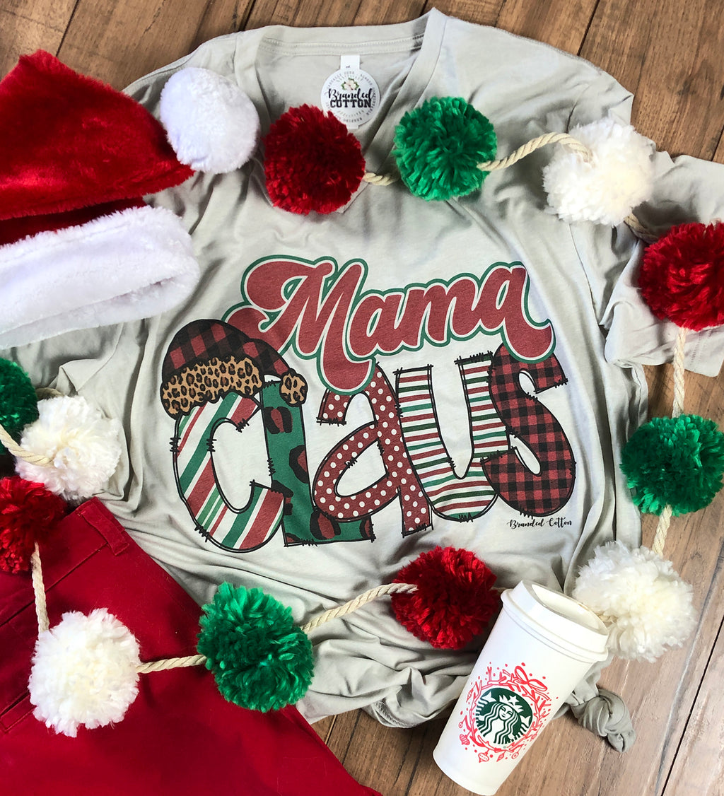 Mrs. Claus {Personalized Tee}