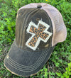 Leopard Cross Cap