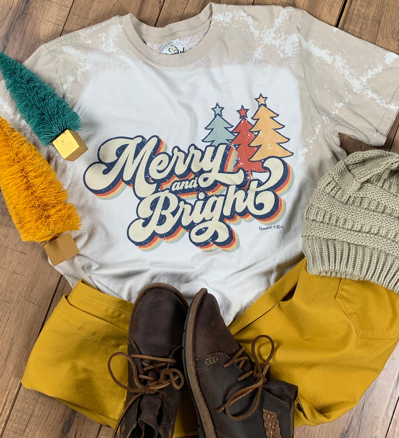 Merry & Bright  {Tan Dip Dye}