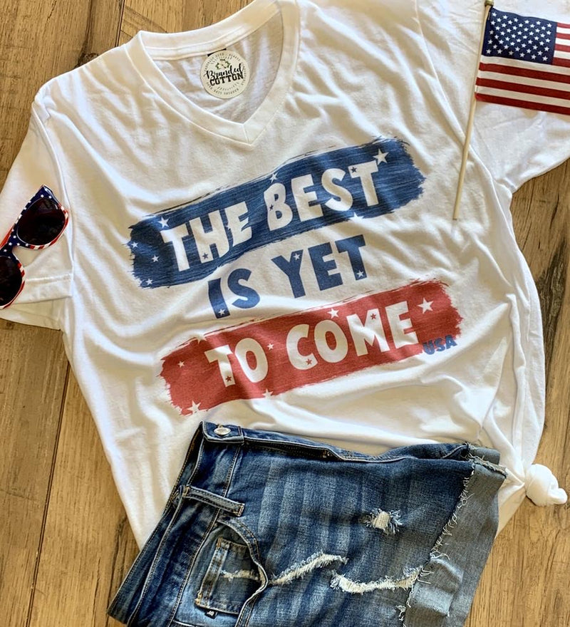 Best Is Yet To Come: USA