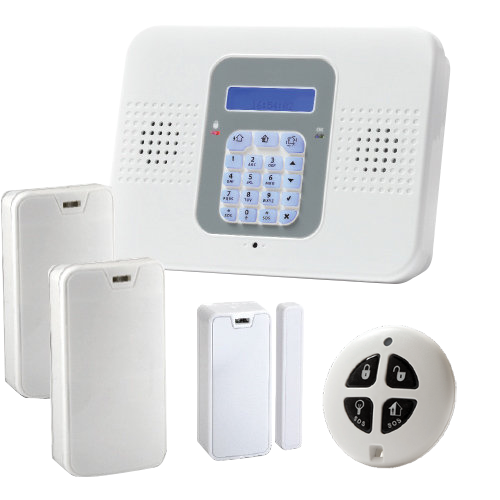 SECUPLACE-W Kit de alarma profesional unidireccional