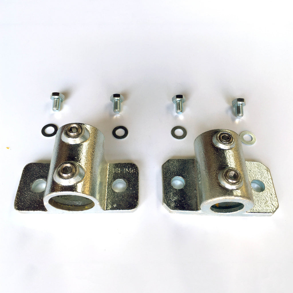 Side View 48mm Tube Clamp Set for long vertical scaffold tube