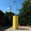 CCTV Pole for a shipping container