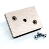 Plywood bolt on adaptor for timber
