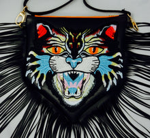 Load image into Gallery viewer, Fringe Cat Purse