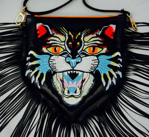 Fringe Cat Purse