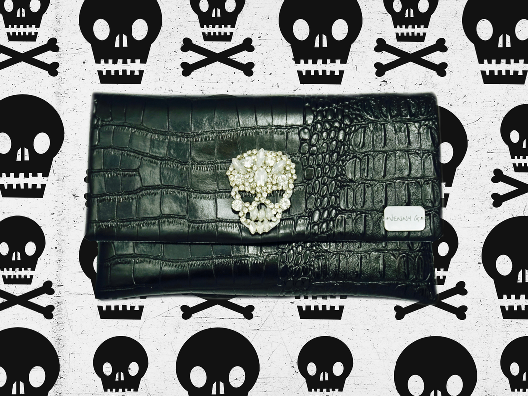 Crystal Skull Clutch