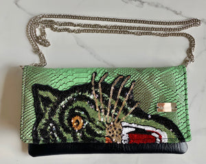 Green Tiger Clutch