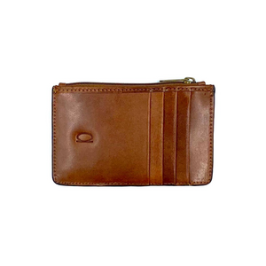 Basic Card Holder with Zipper Compartment