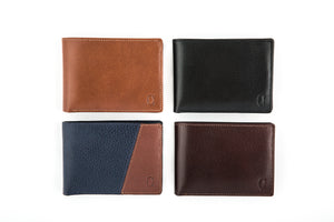 Bifold Wallet with Removable ID Holder
