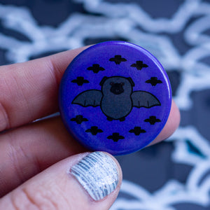 Batpug Button