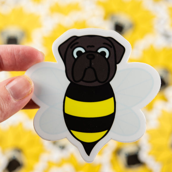 Bumble Pug Sticker
