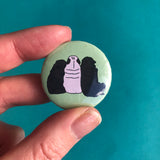 Pug Friends Button