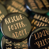 Rescue Foster Adopt Button