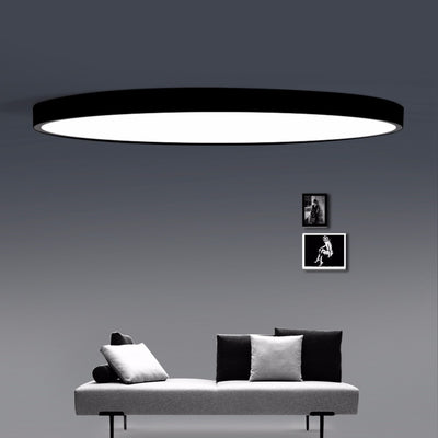 Modern Led Ceiling Light Dimmable Panel Lamp Lighting Fixture Living Room Bedroom Kitchen Surface Mount Flush Remote Control Ceiling Lights
