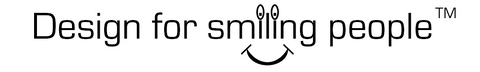 Design for smiling people logo