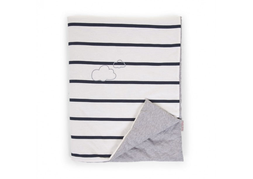 Children's Blanket - Striped Jersey - Baby Prestige UK