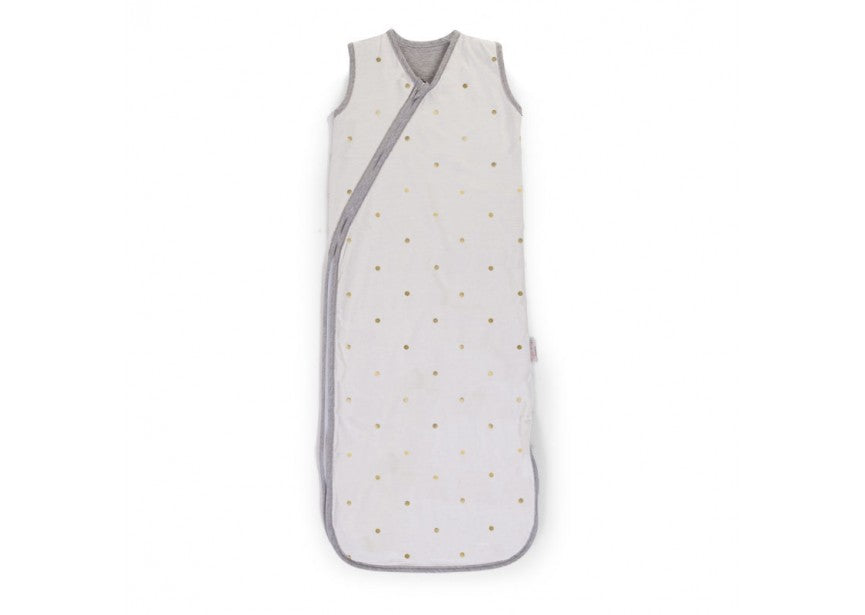 Sleeveless Sleeping Bag - Gold Dots - Baby Prestige UK