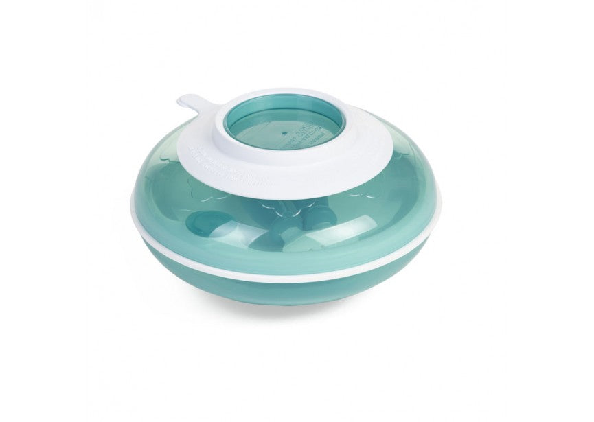Children's Warming Plate with Fork & Spoon - Baby Prestige UK