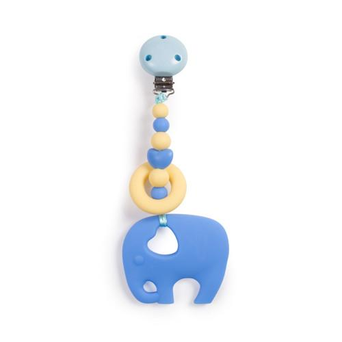 Clippable Elephant Teething Toy - Baby Prestige UK