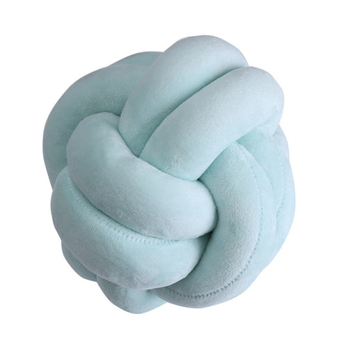 Solid Cotton Knot Ball Cushion for baby - Baby Prestige UK