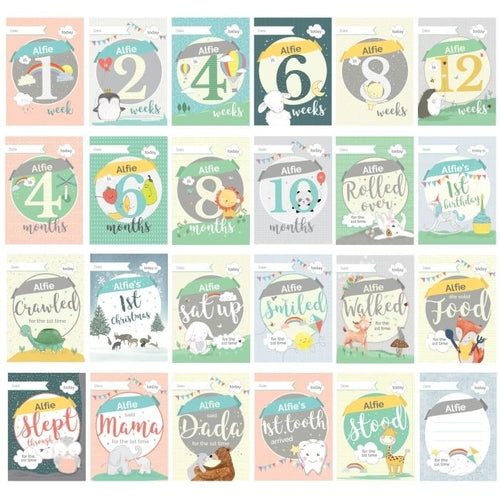 Personalised Baby Cards: For Milestone Moments - Baby Prestige UK