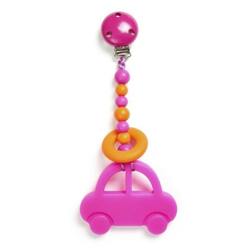 Clippable Car Teething Toy - Baby Prestige UK