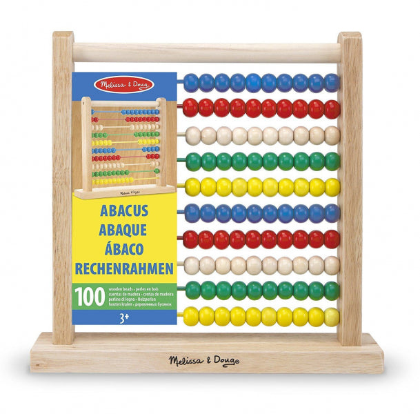 Wooden Abacus by Melissa and Doug - Baby Prestige UK