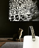 LIGHTSPEAKER big - Leopard Leather Handle