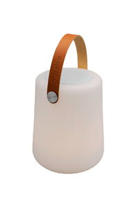 LIGHTSPEAKER big - Cognac Leather Handle