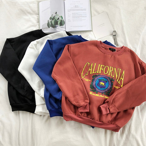"BLVD ""Californication"" Loose Fit Sweatshirt"