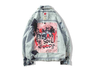 """Graffiti Jeans"" Jacket"
