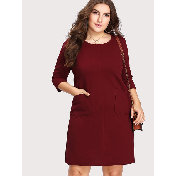 Dual Pocket Front Dress