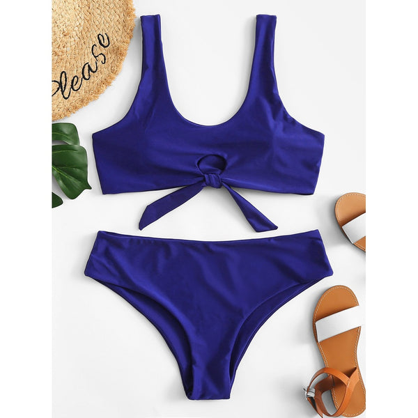 Cut-Out Bikini Set