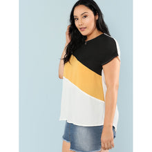 Cut And Sew Tunic Top