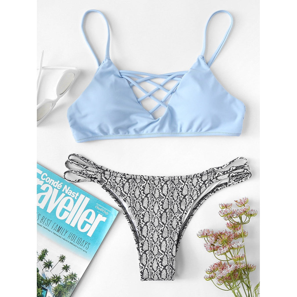Criss Cross Mix & Match Bikini Set