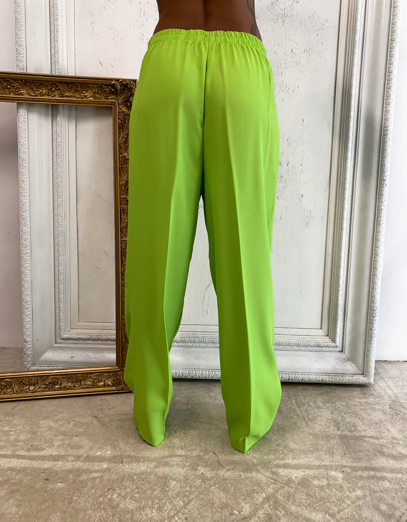 LIME GREEN SUIT TROUSERS