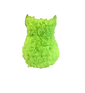 LIME GREEN TULLE DRESS (MADE TO ORDER)