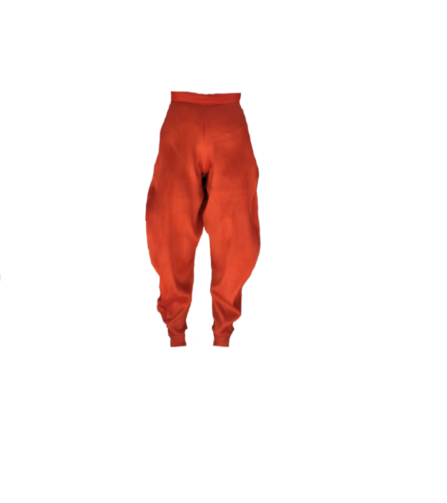 BURNT ORANGE JEANNIE TROUSER