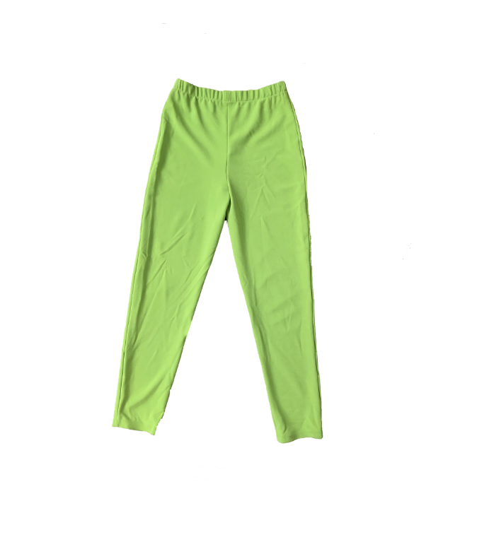CITRON GREEN TROUSER