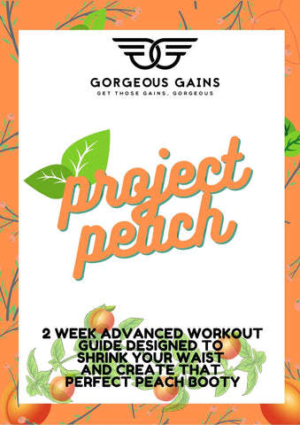 PROJECT PEACH - 2 Week Advanced Workout Guide