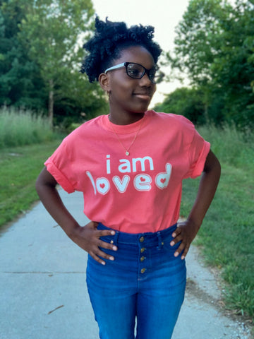 #iam Loved tee