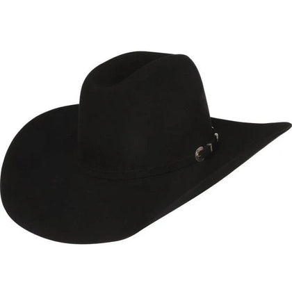 7x Black fur felt hat by American Hat Co.