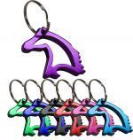 "1-1/3""  Aluminum horse head key chain and bottle opener."