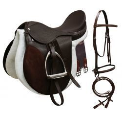 All-Purpose English Saddle Start Set 16'