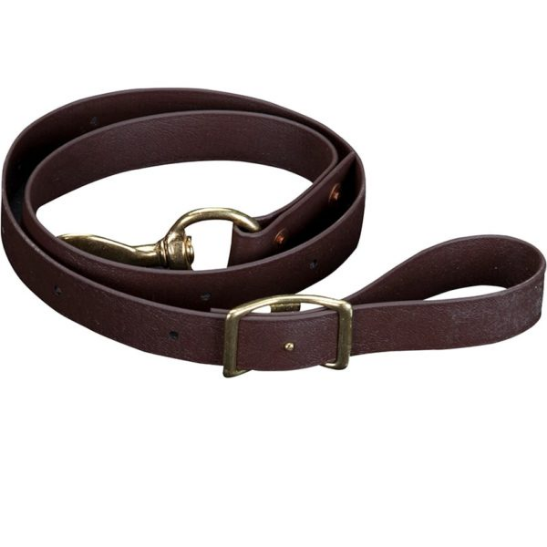 Brown BioThane Tie-Down Strap
