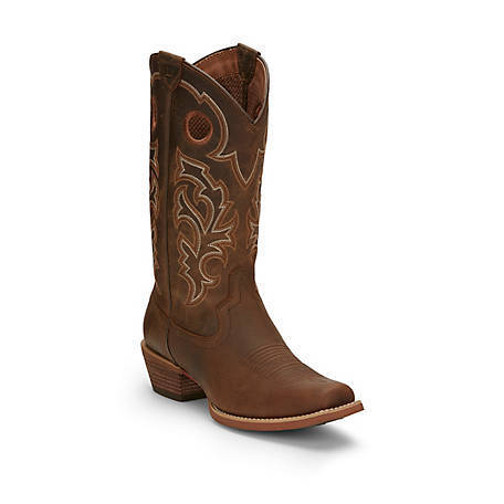 Justin Men's Puncher, Brown, 7310