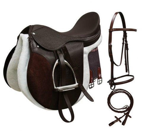 All-Purpose English Saddle Start Set